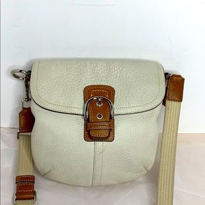 Coach Crossbody In Snoma Leather